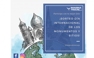 ¡Participa en nuestro sorteo por el Día Internacional de los Monumentos y Sitios!