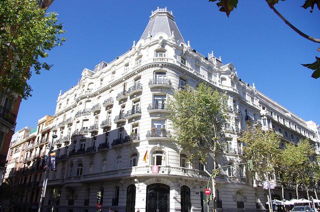 edificio de lujo Madrid